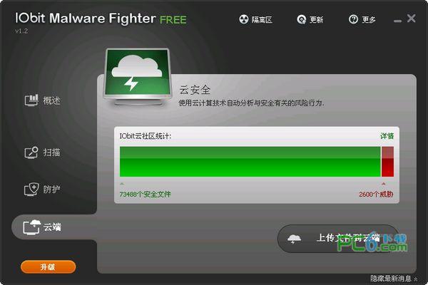 恶意软件查杀(IObit Malware Fighter Pro)