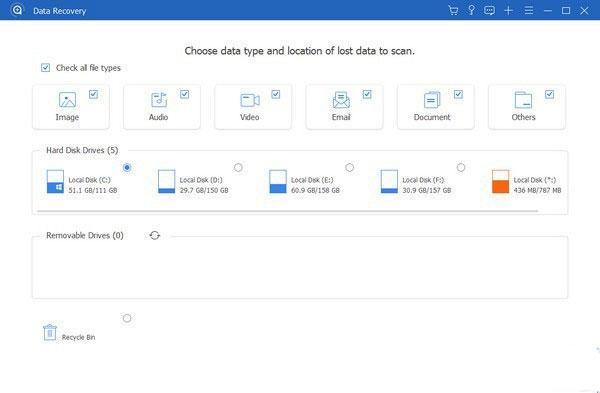 Apeaksoft Data Recovery(数据恢复工具)