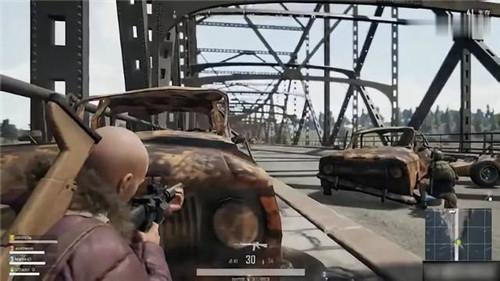 刺激战场韦神解说:有人堵桥怎么办?封烟教学轻松过桥