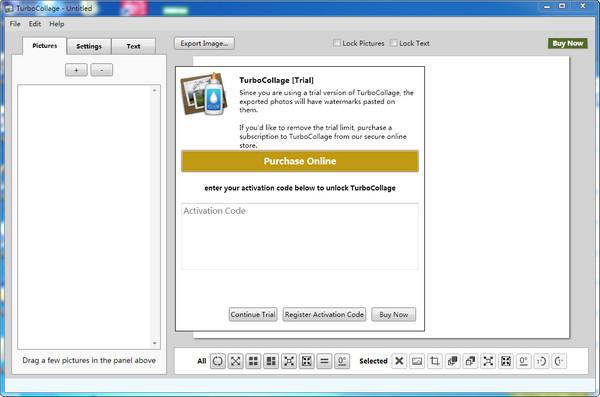 电脑照片拼图软件(TurboCollage)