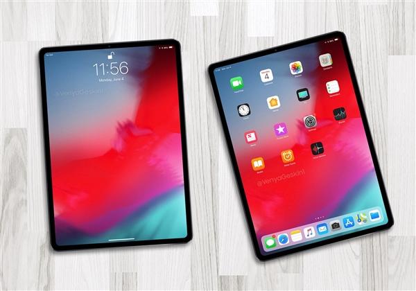 基本确认:iPad Pro将采用圆角屏幕设计!