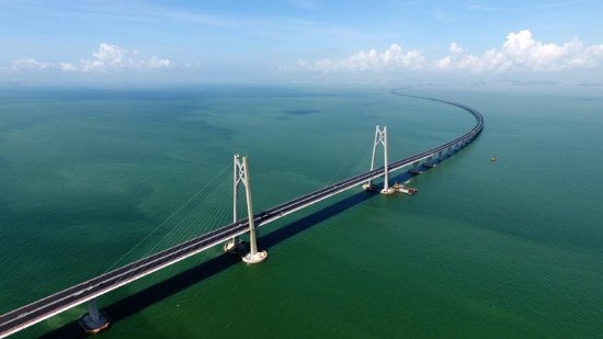 新建通车的港珠澳大桥可用支付宝缴纳过桥费:厉害了!