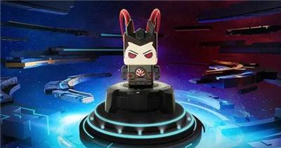 王者荣耀吕布Q版机器人手办,一款可以教你打游戏的手办