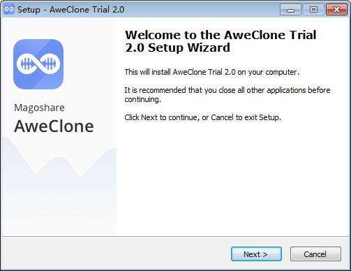 AweClone(磁盤克隆工具)