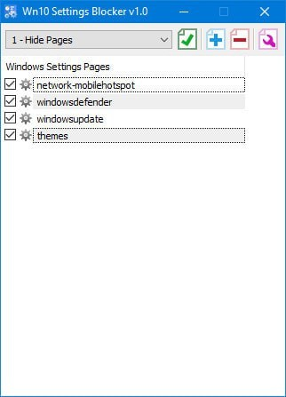 Win10 Settings Blocker(win10隐藏设置工具)