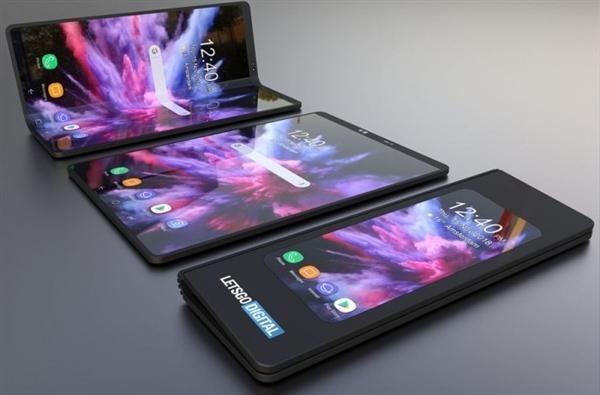 三星折叠屏手机专利图曝光:两个屏幕无缝连接