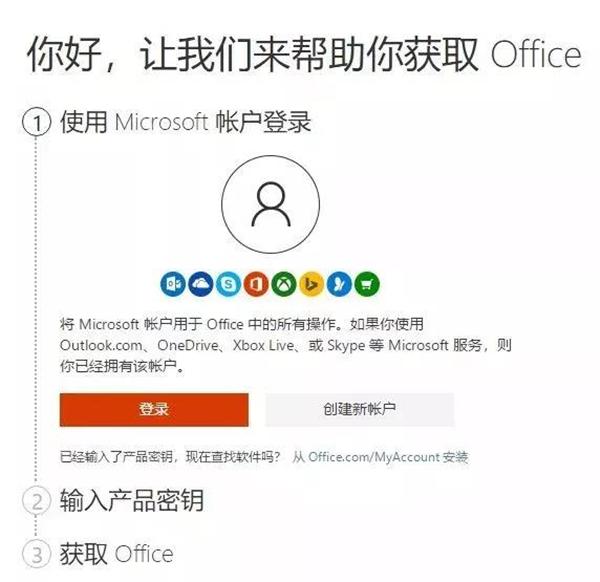 激活Office