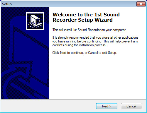 1st Sound Recorder录音软件