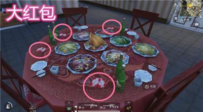 刺激战场吃饭位置分享