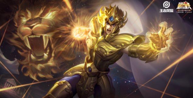 王者荣耀达摩黄金狮子座多少钱 黄金狮子座达摩皮肤动态效果图