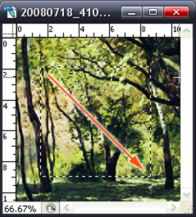photoshop四种选框工具介绍