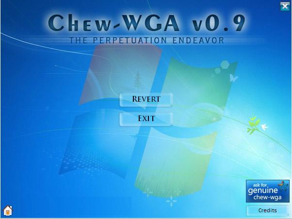 Chew-WGA(三星笔记本win7激活工具) 0.9 绿色版