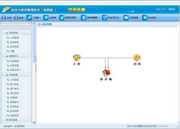 金动力库存管理软件 2013 免费安装版