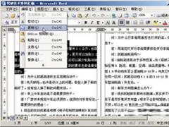 高手教你如何在Word中进行复制黏贴文档