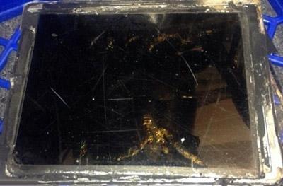 iPad Air发生爆炸
