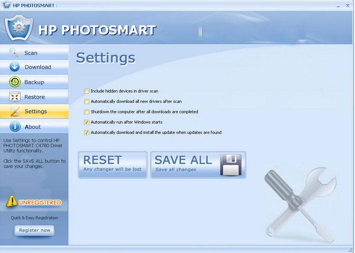 HPPHOTOSMART8250DriverUtility4.6