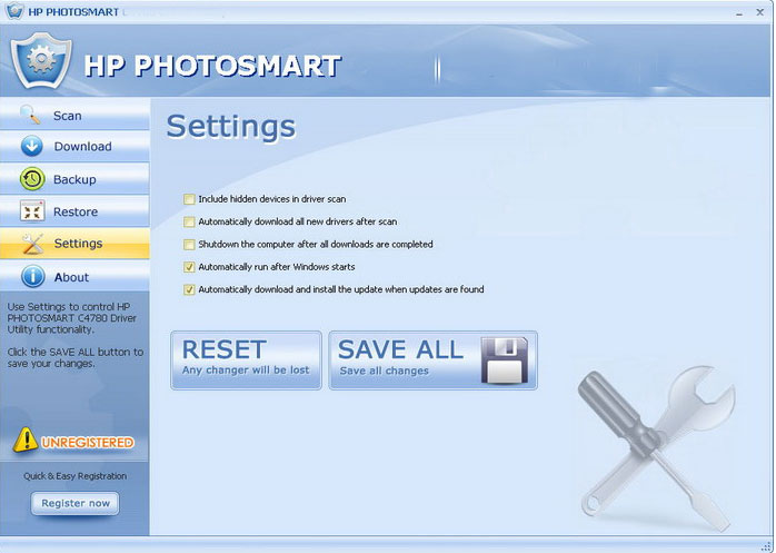 HP PHOTOSMART C309A Driver Utility 4.6