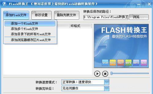 添加Flash文件