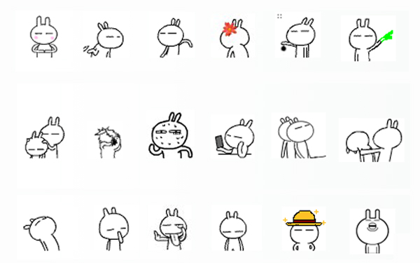 表情QQ表情有哪些?a表情喇叭v表情常用包喊动态表情图片