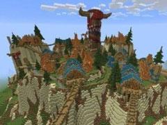我的世界之魔兽世界场景图