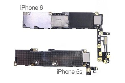 iphone6主板电路图