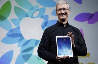 苹果公司将发布新iPad Air