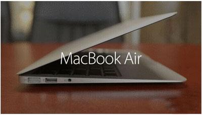 新款Macbook Air配备视网膜屏幕