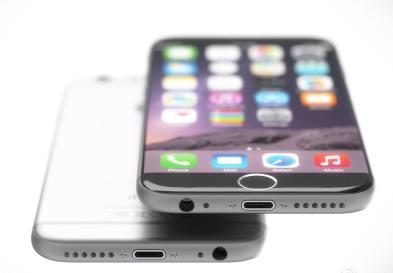7并没太怪异,整体仍以iphone 6为基础,设计者将它变成了无边框的样子