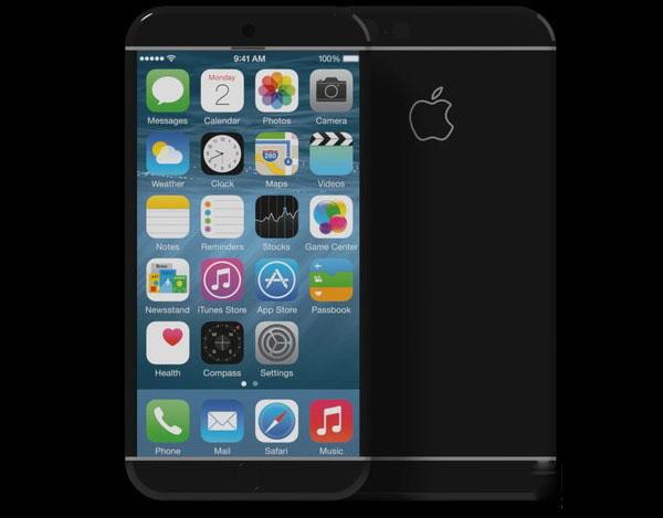 iPhone7熊猫机概念设计 取消home键