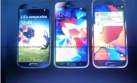 Galaxy S4、S5和S6