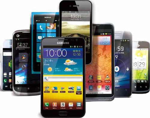 国内手机出货量调查 智能手机不断增长