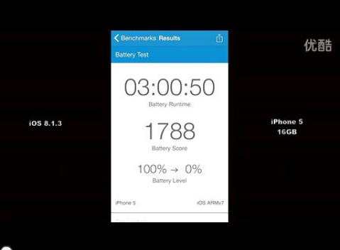 iOS8各版本续航能力测试