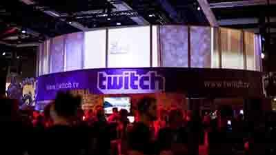 Twitch展台