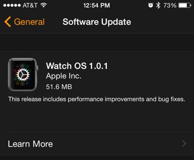 Apple Watch升级