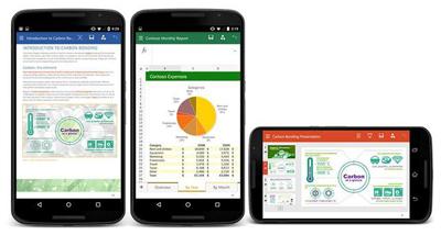 安卓手机全新的office365