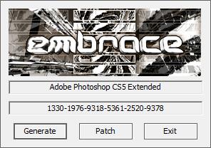 Adobe Photoshop CS5 Extended注册机 V12.0 绿色版