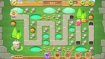 保卫萝卜地下庄园主题游戏截图