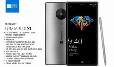 微软Lumia 940XL