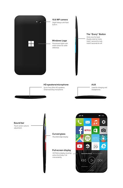 Win11手机概念图曝光