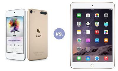 iPod touch和iPad mini 3