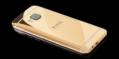 24K镀金版的HTC One M9