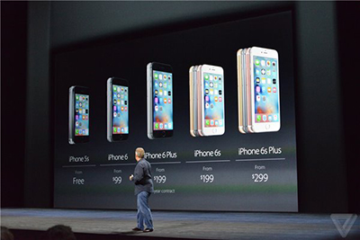 苹果iPhone6s/6s Plus中国首发